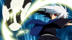 Rikuo uses his Meikyō Shisui