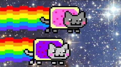 Nyan Cat Falls in Love