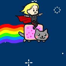File:Thor and Nyan Cat.jpg