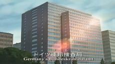 BKA building in Hamburg in anime