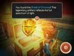 Hero acquires Shield of Chronos