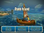 Hero Approaches Bomb Island