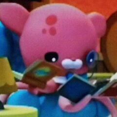 Inkling looking at books