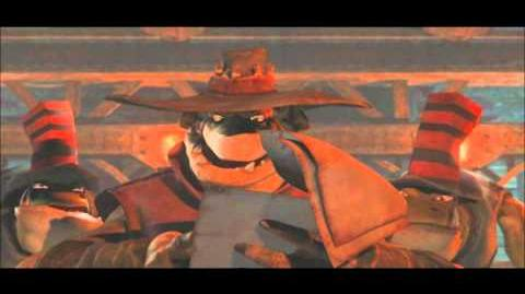 Oddworld Stranger's Wrath cut scene 7 - Captured by Outlaws