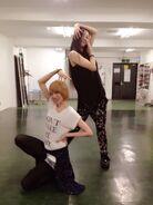 Aty dance pose