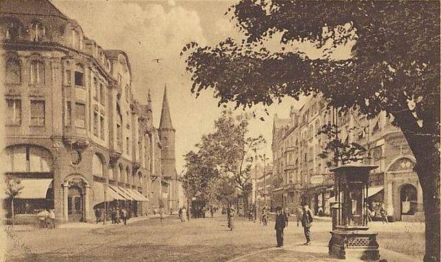 Datei:Kaiserstraße Wettersäule.jpg