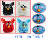 Firby Boom LCD Eyes Liquid Crystal Electronic interactive pet toy Phoebe Firbi Elves Figurines Recording Plush