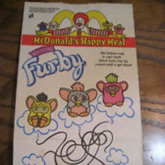 Furby McDonalds Bag.
