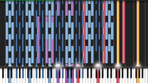 -Black MIDI- Synthesia - Vocaloid- Two Faced Lovers black