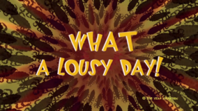 Lousy Day Title