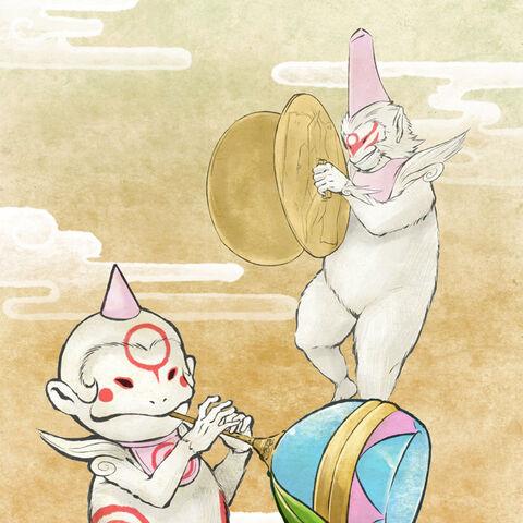 Tsutagami and his child