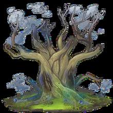 Blue Sacred Tree 1