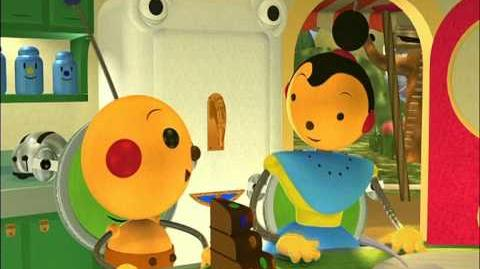 Rolie Polie Olie - Song Of The Bluefish Lady Bug, Lady Bug, Fly Away Home Beddy-Bye - Ep