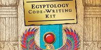 Egyptology: Code-Writing Kit