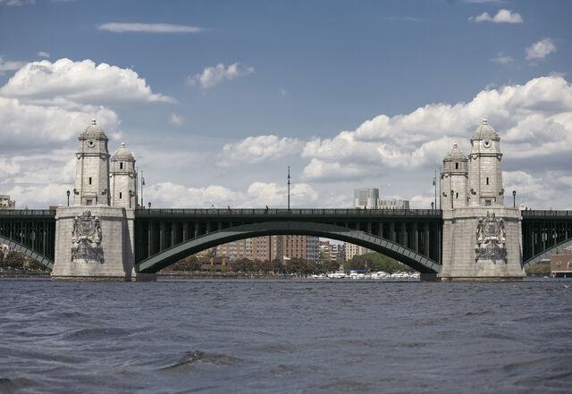 File:Longfellow Bridge Rehabilitation - View from Charles River.jpg