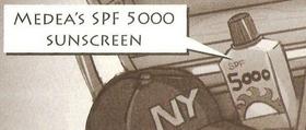 Medea's SPF 5000 Sunscreen