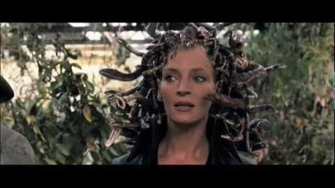 Medusa Chases Percy - Percy Jackson and the Lightning Thief Extended Scene