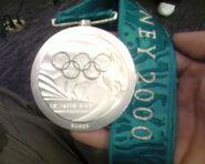 Sydney 2000 Silver