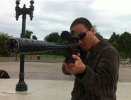 OHF- Steve Kim as Korean sniper on lawn