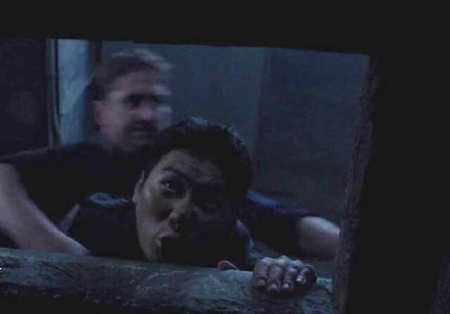 File:OHF- Peter Jae playing a Korean Commando killed by Mike Banning (Gerard Butler).jpg