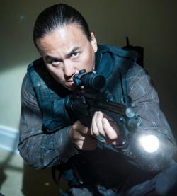 OHF- Steve Kim as Korean Commando in hallway