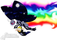 Great Space Butterfly chibi