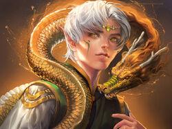 Dragon boy by sakimichan-d4q2z34