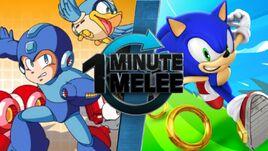 One Minute Melee - Megaman VS Sonic