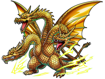 Godzilla X Monster Strike - King Ghidorah