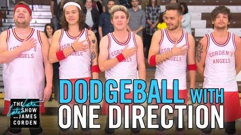 Dodgeball with One Direction-0