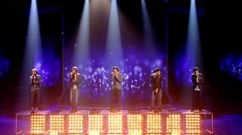 One Direction sing The Way You Look Tonight - The X Factor Live show 6 (Full Version)