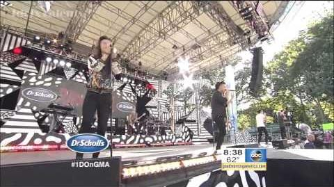 "One Direction - ""Steal My Girl"" (Live at GMA 2015)"