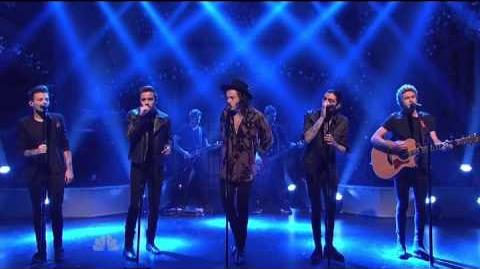 One Direction - Night Changes SNL December 2014-0