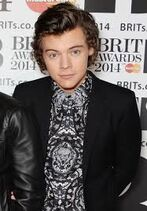 Harry Styles at the Brit Awards