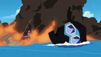 Sabo's Explosion Wreckage