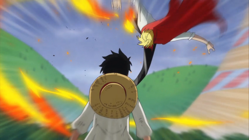 File:Luffy Refusing to Fight Back Against Sanji.png