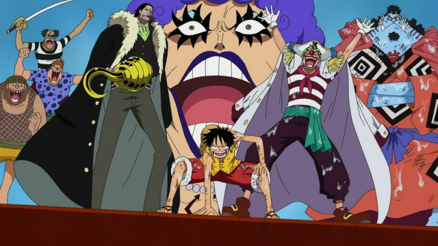 File:Luffy and Impel Down Allies at Marineford.png