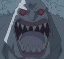 Hody's Face in his Second Transformation.png
