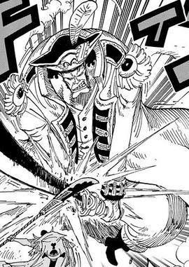 John Giant en el manga