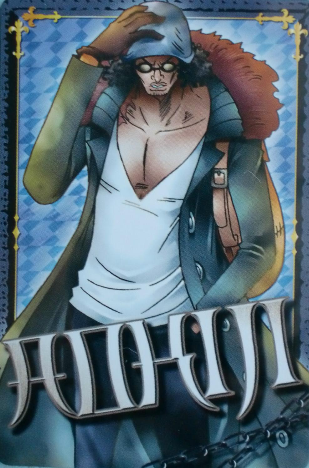 Image - Timeskip aokiji carddass.PNG   One Piece Wiki ...