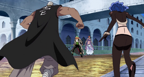 Mr. 1 and Miss Doublefinger vs. Nami and Zoro