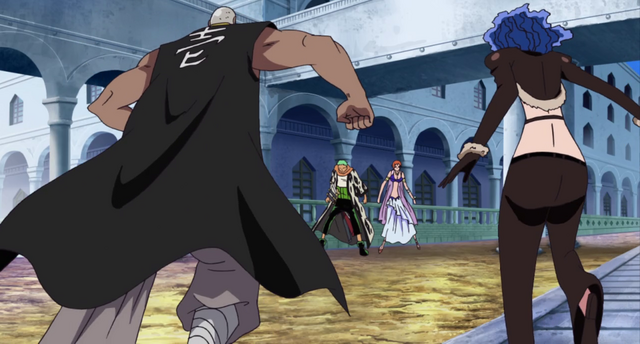 File:Mr. 1 and Miss Doublefinger vs. Nami and Zoro.png