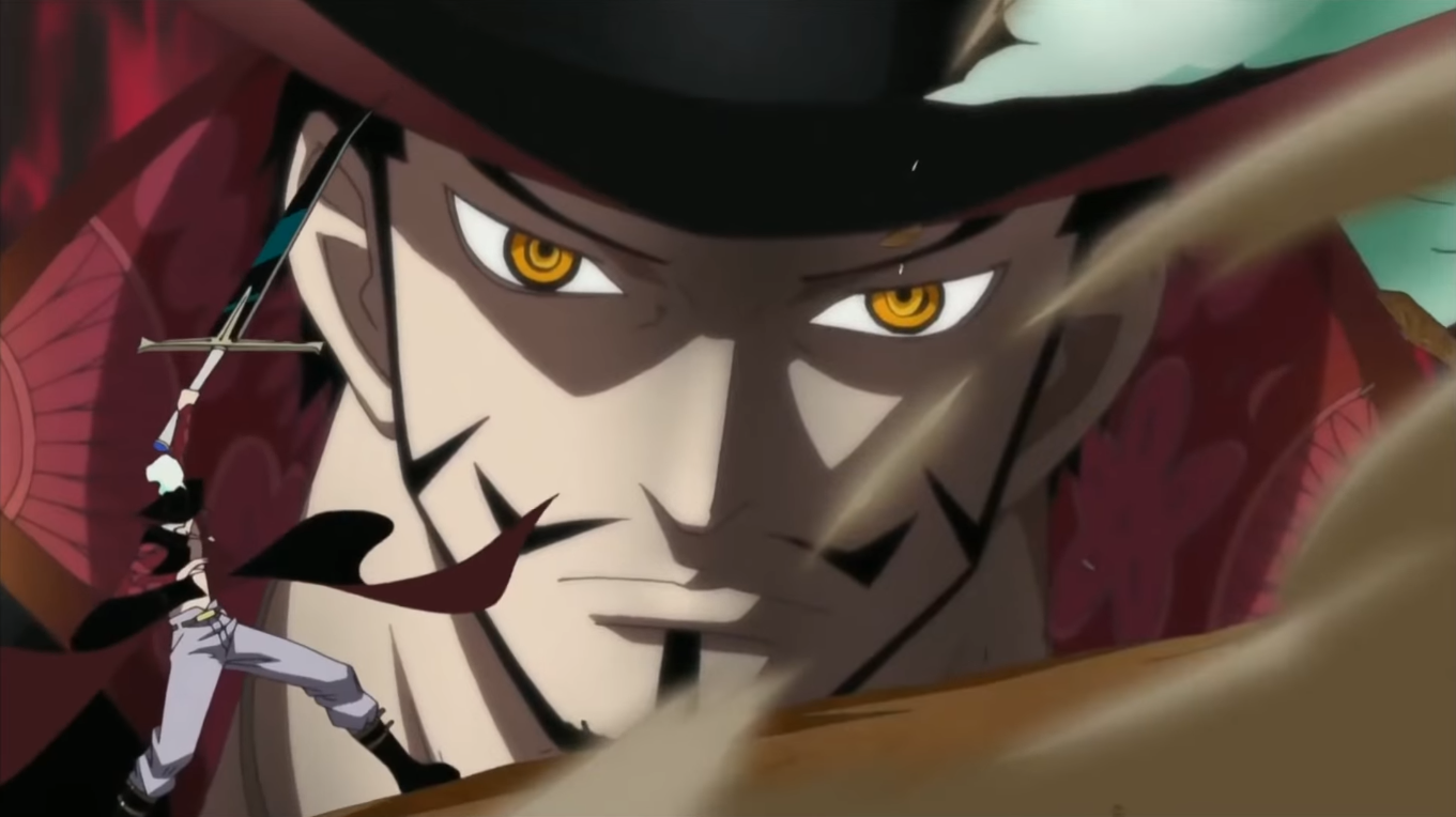 Image - Dracule Mihawk One day.png | One Piece Wiki ...