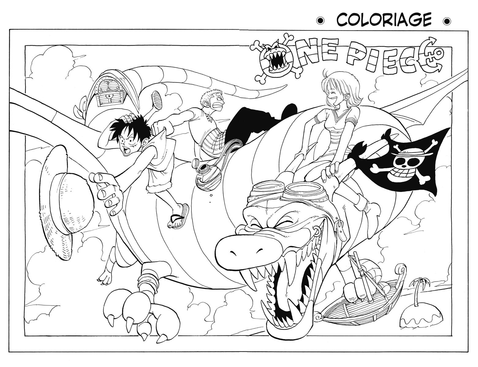 Image Tome 2 Coloriage e Piece Encyclopé