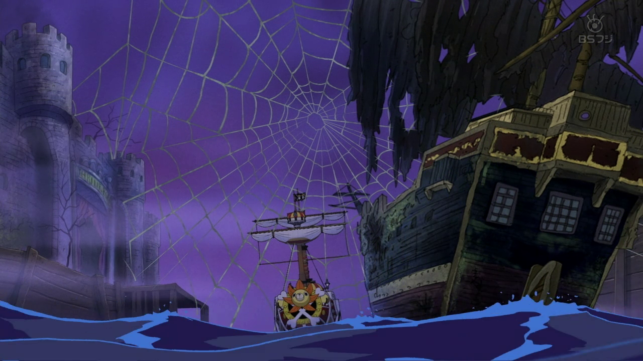 Thousand Sunny Caught in a Spider Web.png