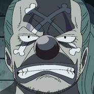 Buggy Impel Down Prisoner Portrait