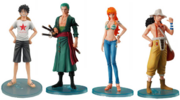 One Piece Styling Figures Reunited Pirates