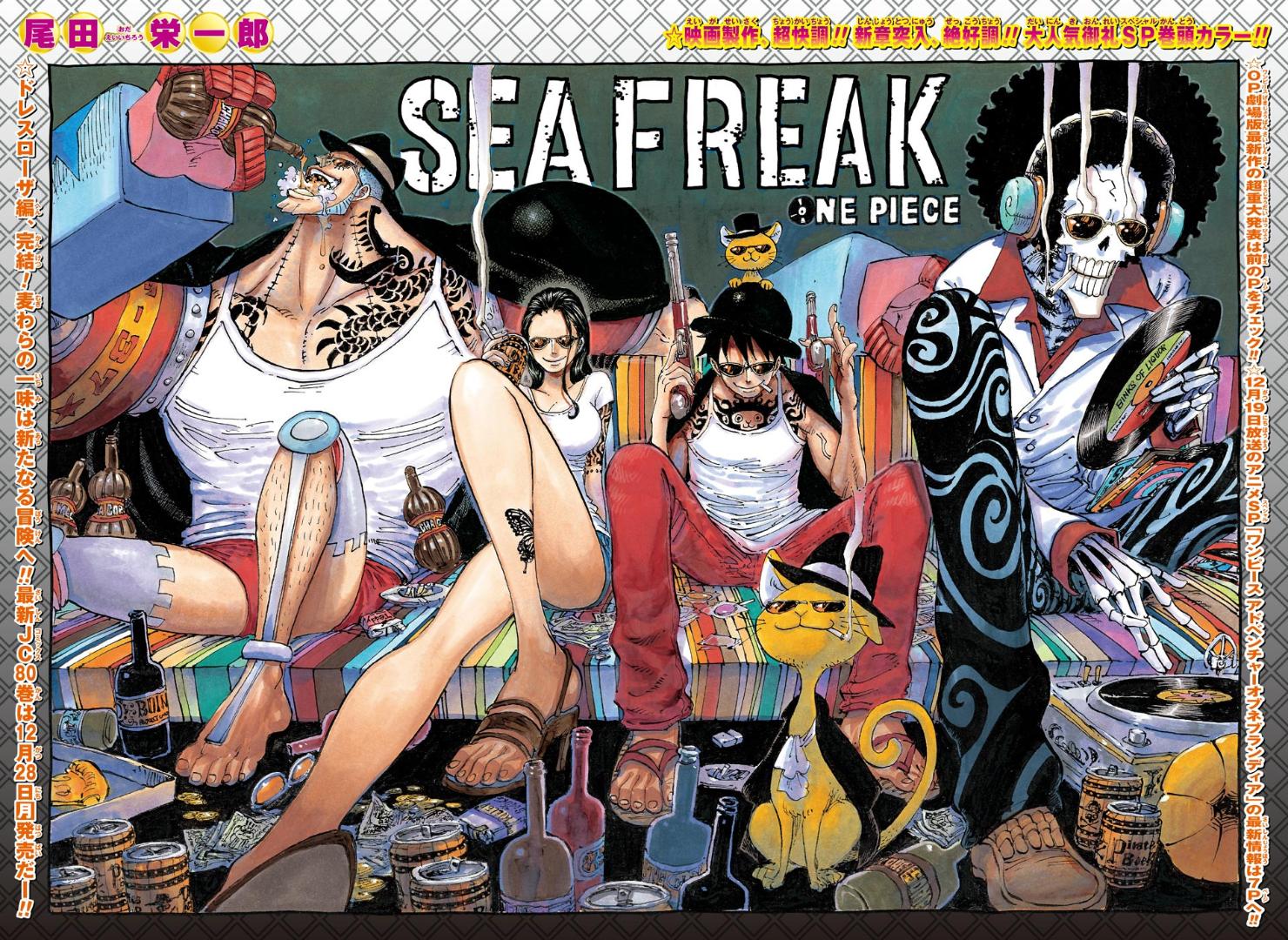 Chapter 809   One Piece Wiki   Fandom powered by Wikia