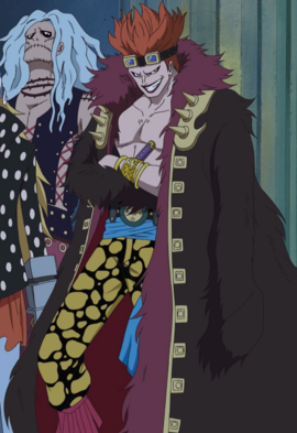 Eustass Kid Anime Pre Timeskip Infobox