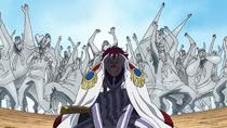 Momonga Stabbing his Hand